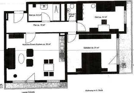 schöne, geräumige 3-Zimmerwohnung für Kapitalanleger