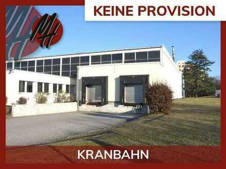 PROVISIONSFREI! Lager-/Produktion (4.500 qm) & Büro (270 qm) & Freilager (2.500 qm) zu vermieten