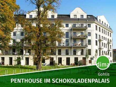 Penthouse im Schokoladenpalais mit Terrasse + Wintergarten, inkl. 2 Stellpl.