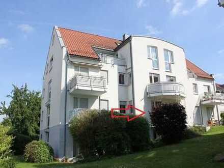2-Raum-Wohnung mit Balkon, TG-Stellplatz uvm. in ruhiger Höhenlage