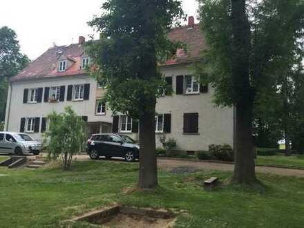 Preiswerte Wohnung in grüner Außenlage in Wilsdruff