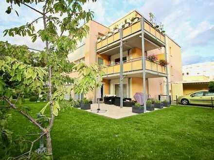 Provisionsfrei- Altersgerechte Eigentumswohnung mit großem Garten!