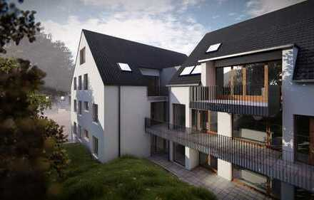 Provisionsfrei. 5-Zi-Whg, über zwei Etagen, Terrasse, Tiefgarage, 1.+2. DG, 2 Tageslichtbäder, Gäste