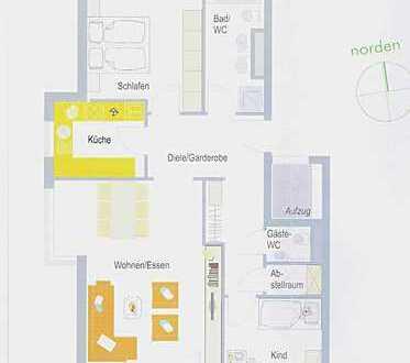 Komfortable 3,5 Zimmer Wohnung in Großsachsenheim