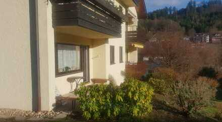 Seniorengerechte sonnige 2,5-Zimmer-Wohnung in Bad Liebenzell