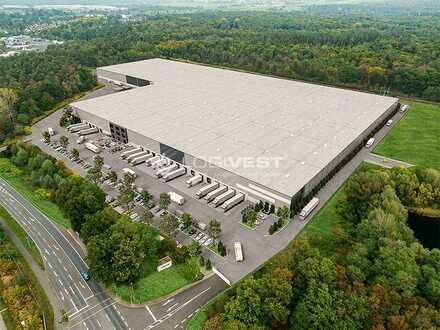 Exklusiv bei Logivest ! Projektierter Neubau einer Lager-und Logistikimmobilie nahe Frankfurt