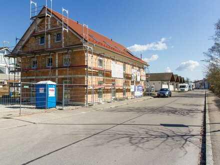 Neubau-Praxisetage im Dachgeschoss, barrierefrei, Lift, PKW-Stellplätze.