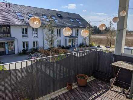 Schön geschnittene, ruhige, naturnahe 3 Zimmer-Wohnung in Haar
