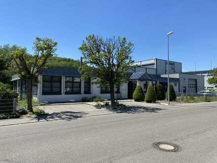 Industriehalle mit 32 t + 20 t Kran und Verwaltungsgebäude
