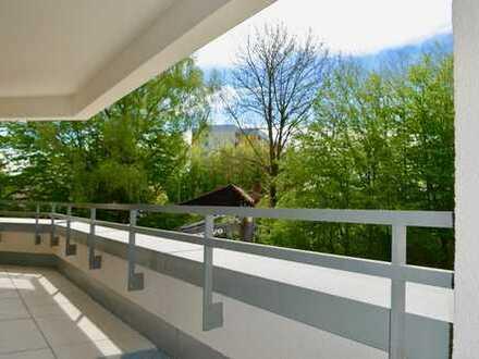 Erstbezug! Großzügige und sonnige 3 Zimmer Wohnung mit blick ins Grüne
