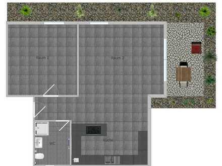Moderne 2- Zimmer Gewerbeeinheit