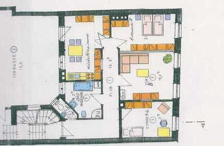 Schöne vier Zimmer Wohnung in Baden-Baden, Innenstadt