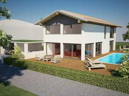 Modernes Einfamilienhaus in Hohenbrunn-Riemerling in sehr schöner Lage