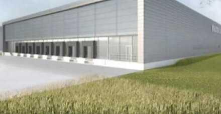 """BAUMÜLLER & CO."" 8.000 m² Logistik-NEUBAU"