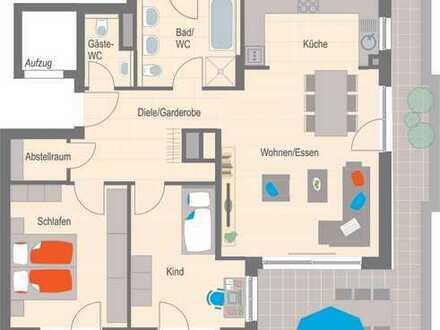 Top Penthouse-Wohnung mit Süd-Dachterrasse - Erstbezug!
