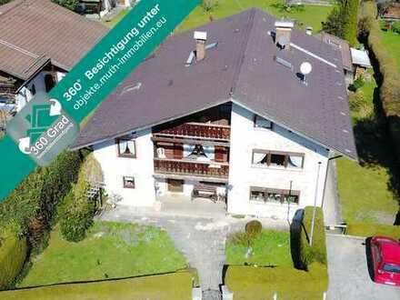 GELEGENHEIT in Oberammergau - Gästehaus in zentraler Lage mit ca. 351 m² Wohnfläche.
