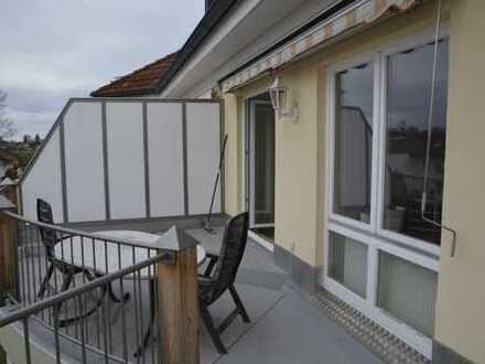 Gepflegte 3-Zimmer-Wohnung mit Balkon und Einbauküche in Bad Aibling