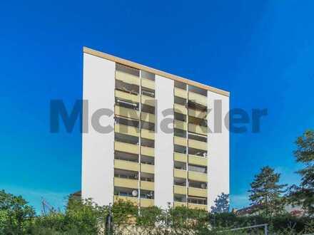 Potenziale nutzen: Sanierungsbedürftiges 1-Zi.-Apartment mit Balkon in zentraler Wohnlage
