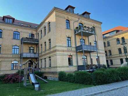 Top gepflegte, gut vermietete Dachgeschosswohnung als Kapitalanlage in guter Wohnlage Leipzig-Gohlis