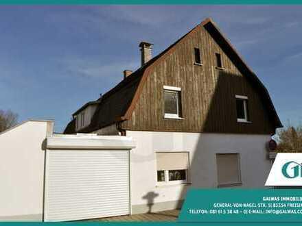 GI** Marzling 4-Zi.-Wohnung mit historischen Holzzimmer