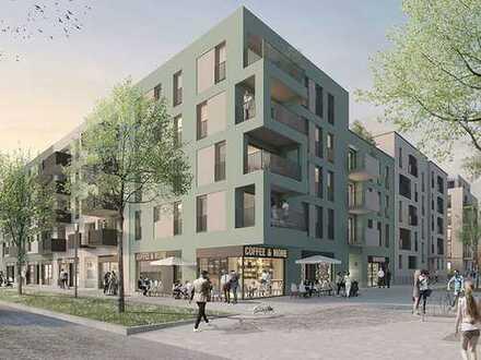 Wohnen in attraktiver zentrumsnaher Lage von Tübingen: 2-Zimmer-Wohnung mit EBK und Süd-Balkon