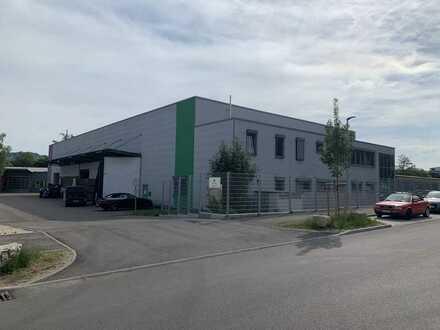 Produktions- und Lagerhalle mit Büro und Aussenfläche