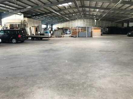 Produktionshalle (ca. 1.620 m²), wahlweise mit Büro (ca. 600 m²) in 55743 Kirschweiler zu vermieten