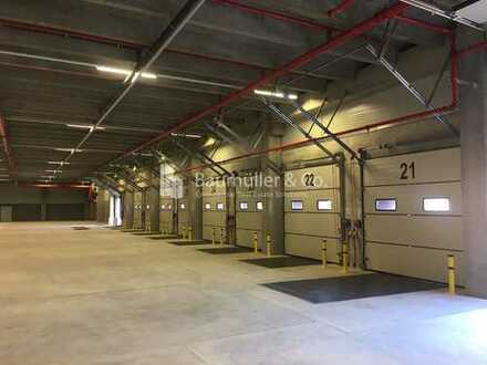 """""""BAUMÜLLER & CO."""" - 10.000 m² Logistikhalle - NEUBAU - 12 m UKB - Büro verfügbar"""