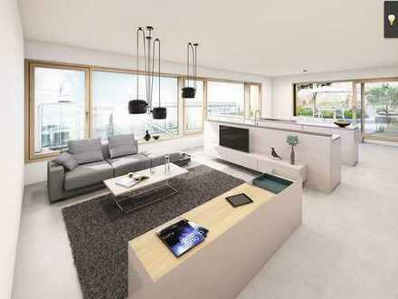 Neubau-Penthousewohnung in der Krefelder Innenstadt