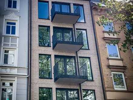 Erstbezug: Luxus 2 oder 3-Zimmer-Wohnung mit Balkon
