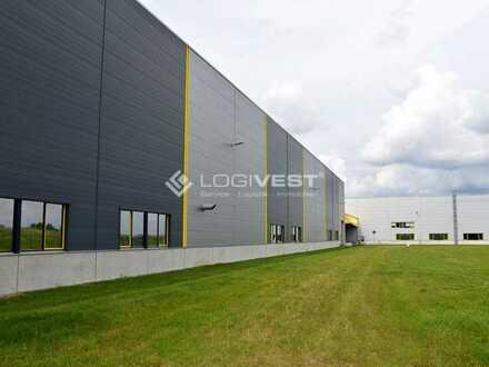 Neubau einer Gewerbe- /Industriehalle in Gilching