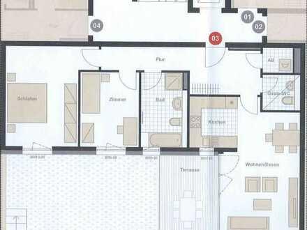 Neubau-Erstbezug mit Garten: exklusive 3-Zimmer-Wohnung in 1A-Lage, top Autobahnanbindung