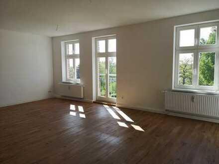 Großzügig geschnittene und helle 3-Raumwohnung in Loitz zu vermieten.