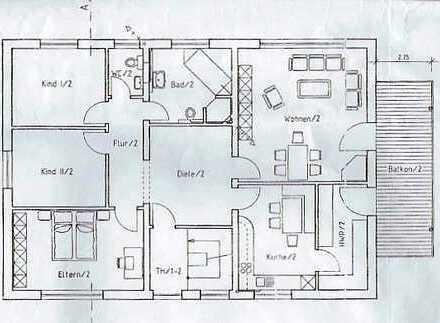 Wohlfühlwohnen in Euskirchen! 4-Zimmer-Wohnung mit Balkon