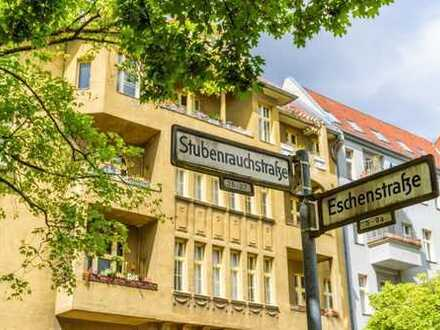 2-Zimmer-Altbauwohnung mit Balkon in Berlin Friedenau - provisionsfrei