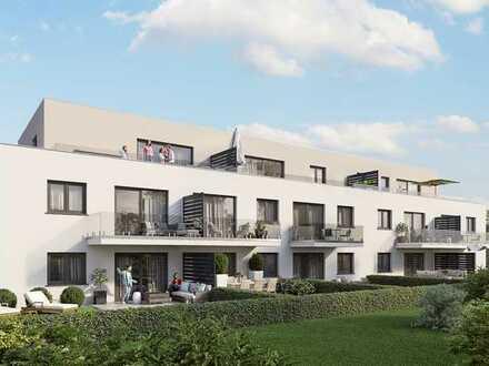 HAUS 1 Wohncarré Dietfurt: Neubau 2-Zimmer-Obergeschoss-Wohnung barrierefrei m. Aufzug u. Tiefgarage