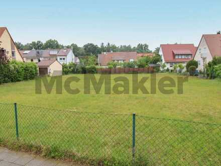 Toplage in Nürnberg: Großes Grundstück mit perfekter Anbindung und Infrastruktur in Eibach