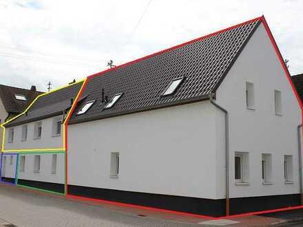 Einfamilienhaus, 146 qm², 4 Zimmer, mit Scheune und Garten, von privat, (rote Umrandung)