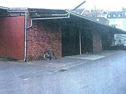 500 qm ebenerdige Lagerhalle inkl. Meisterbüro - Hallenhöhe 5,50m - 6,00m