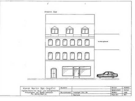 Mehrfamilienhaus in Meerane/Sachsen Nähe Zwickau BJ 1898 Kernsanierung 2001