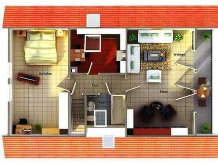 2-Zimmer-Wohnung mit tollem Ausblick