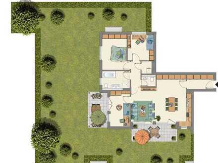 Für Gartenliebhaber!!! 4-Zimmerwohnung mit großem Privatgarten zum Wohlfühlen für die ganze Familie!
