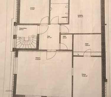 Gepflegte 2,5-Zimmer-Dachgeschosswohnung mit Balkon und Einbauküche in Oldenburg (Oldenburg)