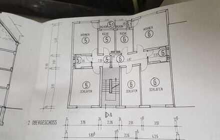 Vollständig renovierte 3-Zimmer-Wohnung mit Balkon in Hörde