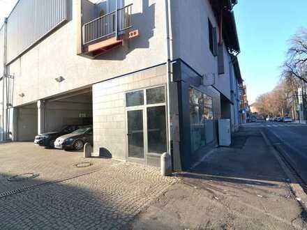 Platz für Ihre kreative Geschäftsidee - kleines Eckgewerbe a. d. Donau inkl. Nebenraum & Toilette