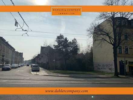 Baugrundstück mit Baugenehmigung für Neubau eines Mehrfamilienhaus in Leipzig-Böhlitz-Ehrenberg