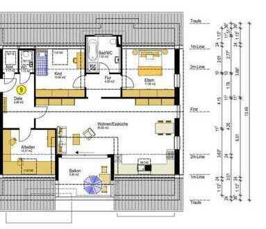 KAPITALANLAGE Neubau 4,5 Zimmer Penthouse Wohnung mit Aufzug