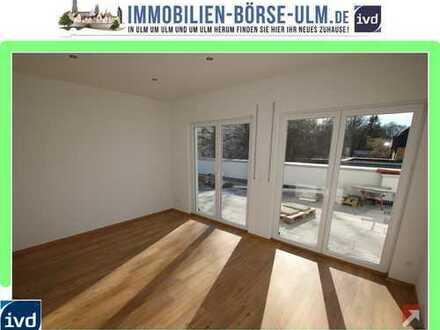 Neubau-Wohnung mit EBK und Balkon in der City von Neu-Ulm