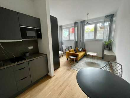 Erstbezug! Möbliertes 1-Zimmer-Apartment am Wiesengrund