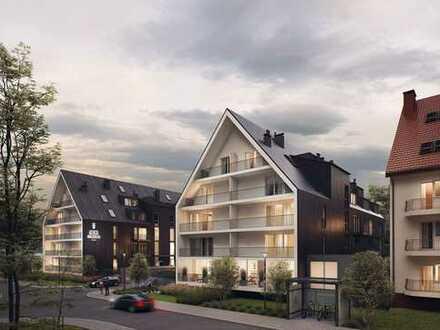 Schlüsselfertige Appartements in unterschiedlichen Größen am Ostseestrand von Kolberg